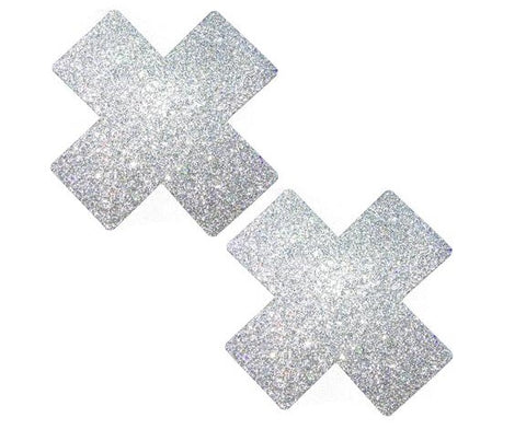Silver Pixie Dust Glitter X Pasties