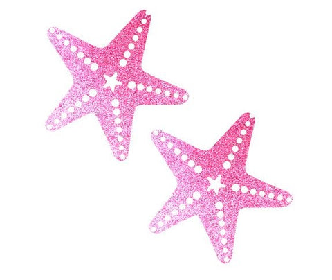 Sparkle Pony Pink Glitter Sexy Starfish Pasties