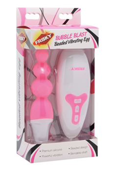 Bubble Blast Beaded Vibrating Egg