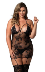 Lace Cage Strap Body