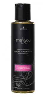 Me & You Sensuva Luxury Massage Oil 4.2 Oz