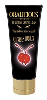 Oralicious The Ultimate Oral Sex Cream Cherries Jubilee 2 oz