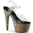 Pleaser Multicolor Platform