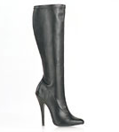 Pleaser Sed Below Knee Boots