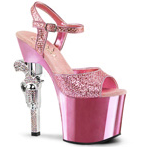 Pleaser REV Metallic Platform