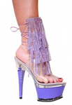 Karo Shoes 3215 Clear with Lavender