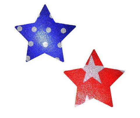 Wonder Woman Holographic Star Pasties