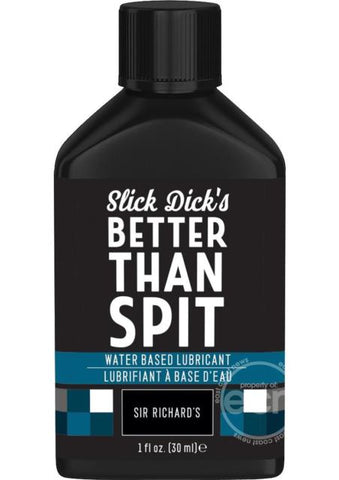 Slick Dick's Much Better Than Spit Water Based Lubricant