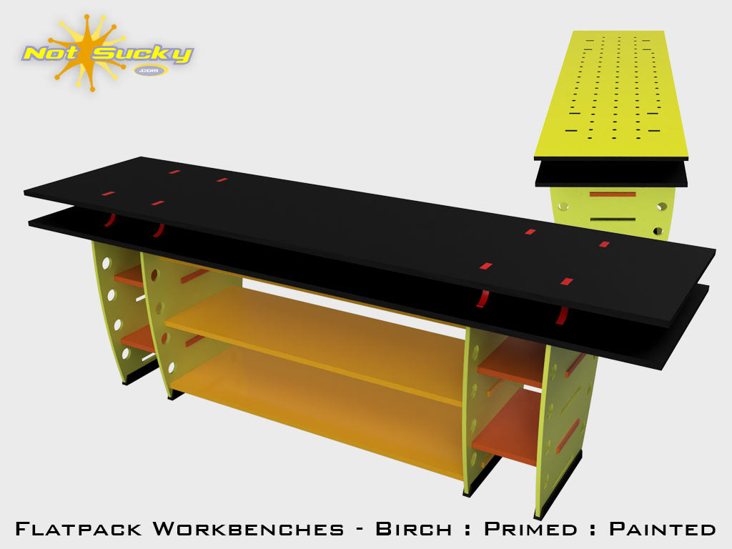 Flat Pack Workbench Collection