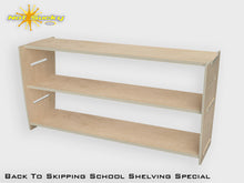 Load image into Gallery viewer, Back To School Flatpack Shelving Special Brich