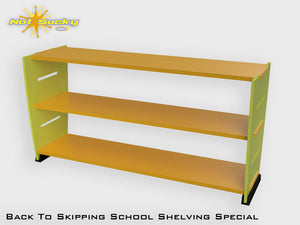 Back To School Flatpack Shelving Special Lime Green / Marigold