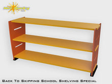 Load image into Gallery viewer, Back To School Flatpack Shelving Special Orange / Marigold
