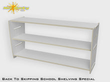 Load image into Gallery viewer, Back To School Flatpack Shelving Special Primed
