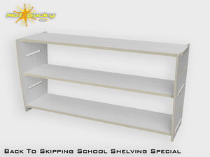 Back To School Flatpack Shelving Special Primed