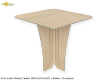Load image into Gallery viewer, Flat Pack Deco Table : Birch  Plywood