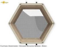 Load image into Gallery viewer, Flat Pack Hexagon Shelf Kit - Birch