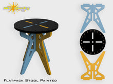 Load image into Gallery viewer, Flat Pack Stool Kit : Painted