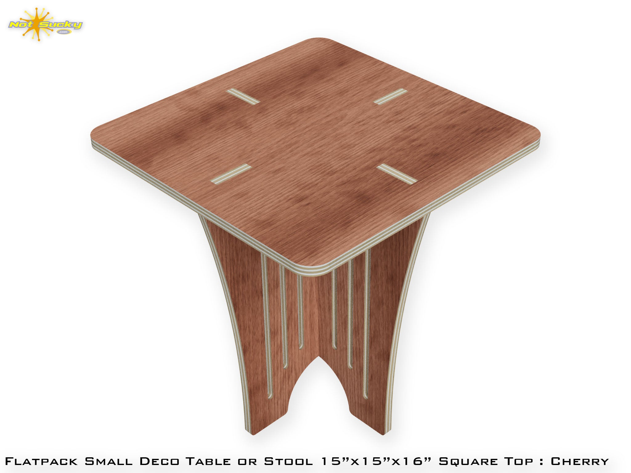 Strange Flat Pack Small Deco Table Or Stool Notsucky Theyellowbook Wood Chair Design Ideas Theyellowbookinfo