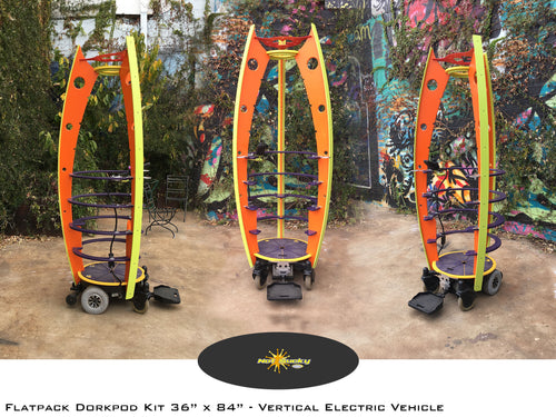 Dorkpod Flat Pack Frame Kit : Vertical Electric Vehicle