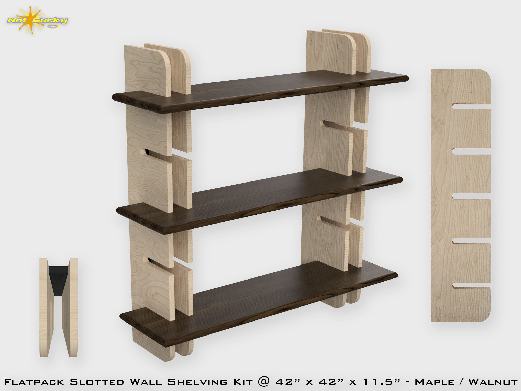Flat Pack Bookshelf Collection