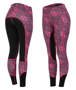 VIVID Riding Leggings - Bouquet