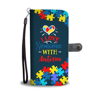 Premium Autism Awareness Wallet Case