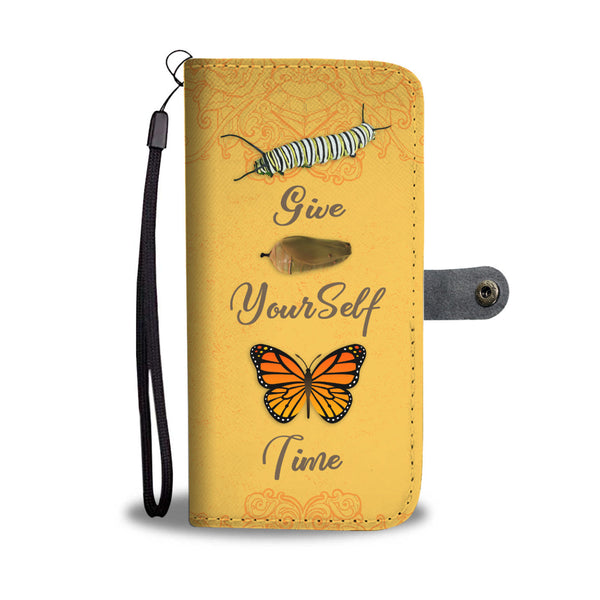 Give Yourself Time Wallet Case