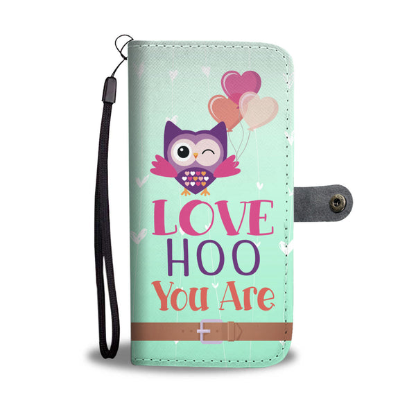 Love Hoo You Are Wallet Case