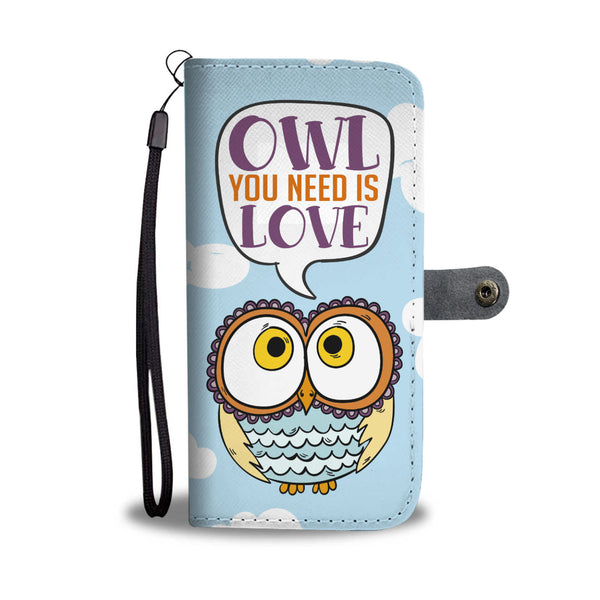 Owl You Need Wallet Case