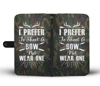 Premium Bowhunting Wallet Case