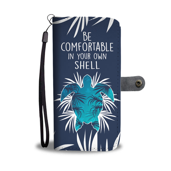 Be Comfortable Turtle Wallet Case