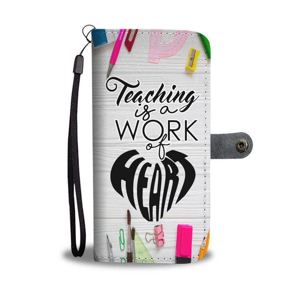 Teaching Wallet Case