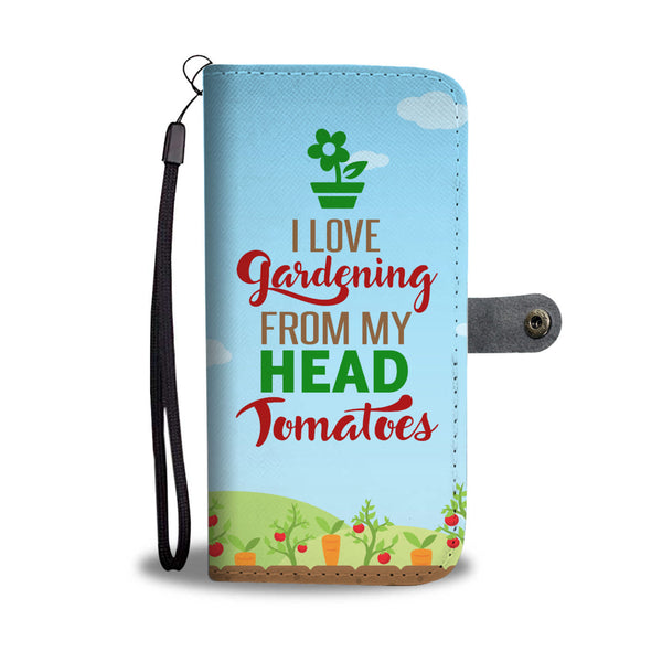Gardening Lover Wallet Case