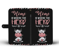 Home Is Where The Herd Is Wallet Case