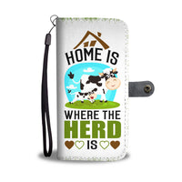 Herd Is Home Wallet Case