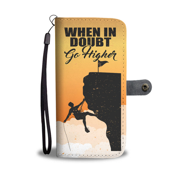 Rock Climbing Wallet Case