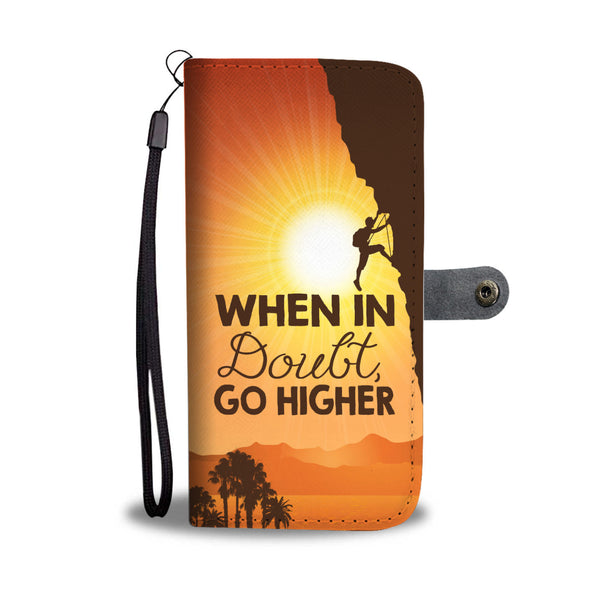 Go Higher Wallet Case