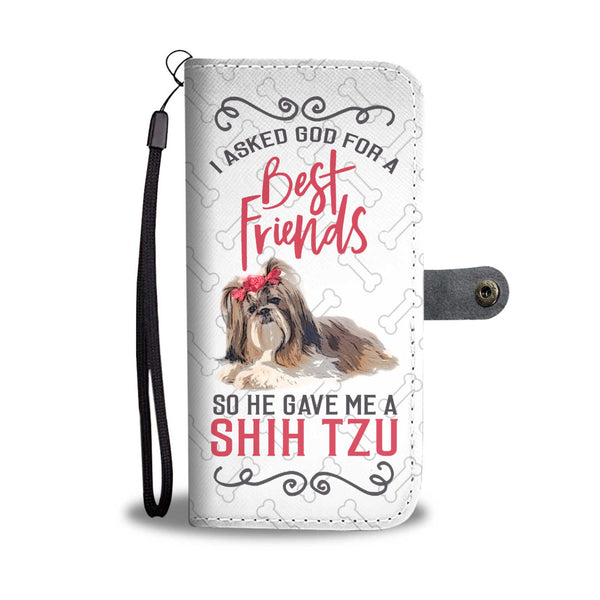 Shih Tzu Wallet Case