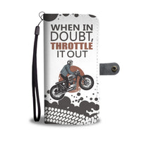 When In Doubt Biker Wallet Case