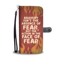 Face of Fear Wallet Case