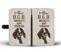 Goat Lover Wallet Case