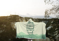 Find My Soul Hooded Blanket