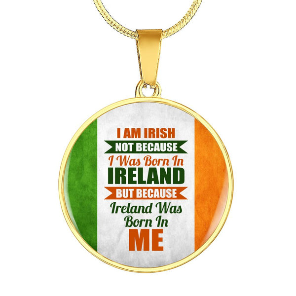 I Am Irish Charm Necklace