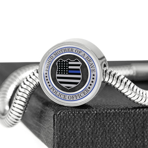 Premium Proud Police Mother Bracelet