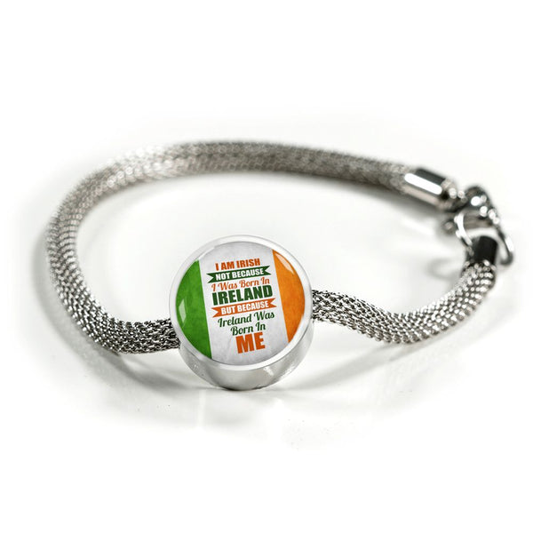 I Am Irish Charm Bracelet