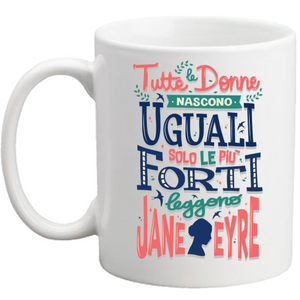 Tazza Jane Eyre - Donne forti - Readress