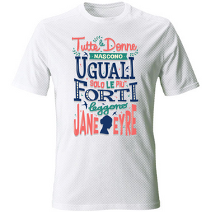 T-Shirt Unisex Dry Sport Jane Eyre - Donne forti - Readress