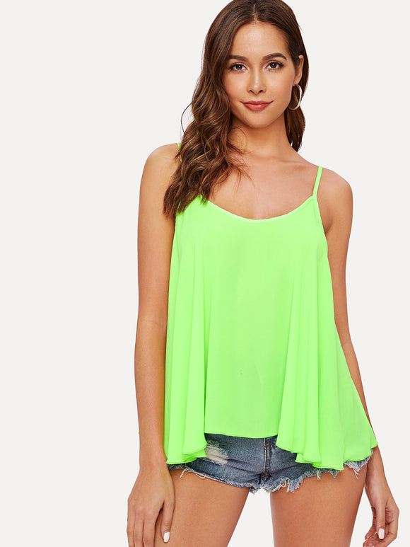Swing Neon Green Cami Top