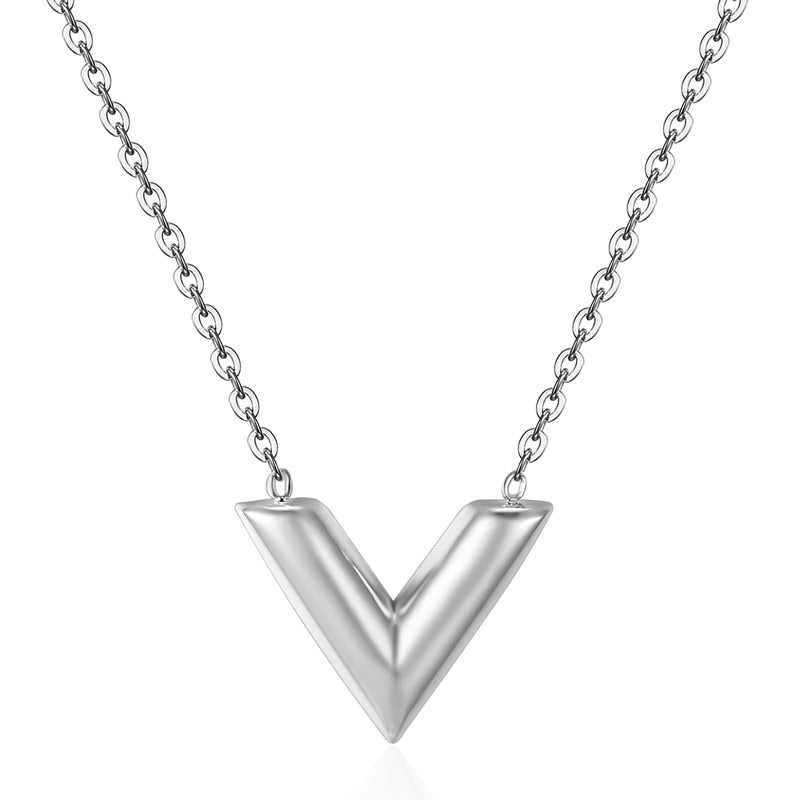 Elegant V Necklace