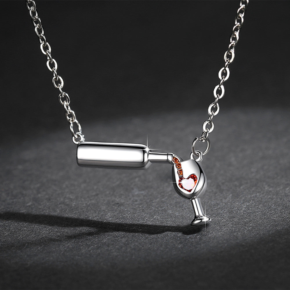 Wine Love Necklace